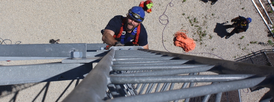 Tower Rescue - Climbing